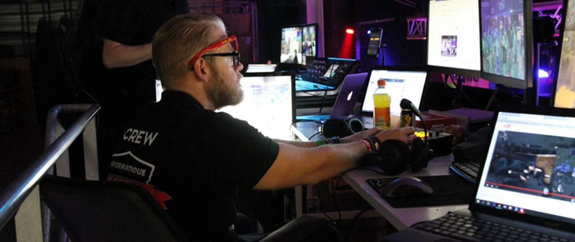 Video oyunları ve eSports Canlı yayınlanması